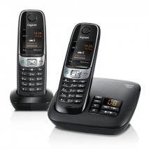 SIEMENS Gigaset C620 DECT Cordless Phone Baby Phone Function Black 220 Volts NOT FOR USA