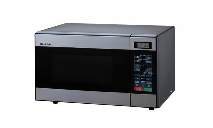 R 299s Stainless Steel Microwave Oven