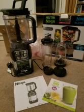 Ninja Nutri BL492UK 1200W Blender Duo with Auto iQ 220 Volts NOT FOR USA