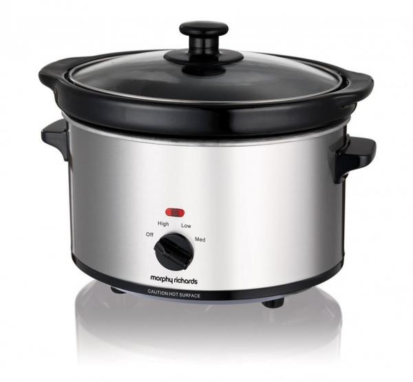 Morphy Richards Usa: Morphy Richards 460251 Ceramic Slow Cooker, 2.5 Litre, 180 W 220 VOLTS NOT FOR USA