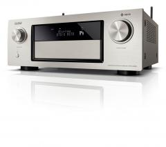 Denon AVRX4300HSPE2 Premium AV surround receiver and HEOS integration premium silver 220 VOLTS NOT FOR USA