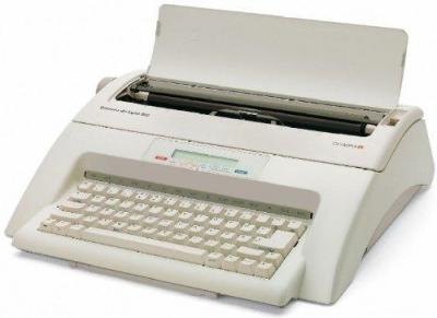 OLYMPIA Typewriter 252661001 Luxury Carrea