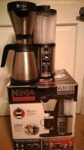 Ninja CF060UK  Coffee Bar Auto-iQ Brewer with Glass Carafe –  220 volts NOT FOR USA