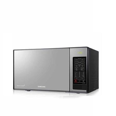 Microwave Oven W Black Gl Mirror