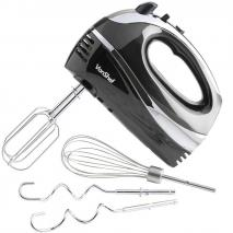 VonShef 07067 Hand Mixer Black - for 110-240 volts and 50 hz NOT FOR UAS