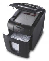 Rexel Auto+ 100M Micro Cut Paper/Credit Card Shredder with 100 Sheet Capacity and Jam Clearance - Black 220 VOLTS NOT FOR USA