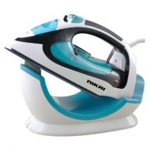 Nikai NSI456C Cordless Steam Iron - Ceramic Soleplate - Self Celaning function 220-240 Volt 50Hz NOT FOR USA