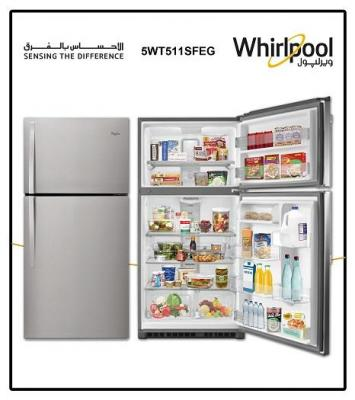 Whirlpool 5WT511SFEG Refrigerator and Freezer  220 Volts NOT FOR USA
