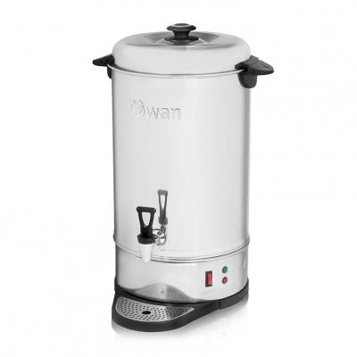 Swan SWU20L 20 Litre (80 cup) Professional Stainless Steel Catering Urn / Water Boiler 220 VOLTS NOT FOR USA