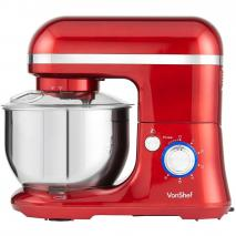 VonShef 13270  Stand Mixer 650 watts with Dough Hook, Beater, whisk, & Splash Guard 220-240 volt 50 hz  NOT FOR USA