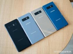 Samsung Galaxy Note 8 N9500 4G Dual SIM UNLOCKED GSM Phone (256GB) (Black, Blue)