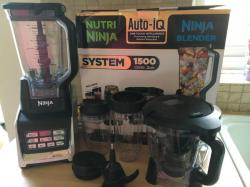 Nutri Ninja Complete Kitchen System with Nutri Ninja 1500W - BL682 (With Chute) 220 VOLTS (NOT FOR USA)