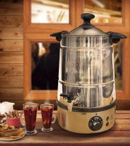Swan SWU5LS 5 Liter Stainless Steel Hot Cider and Mulled Wine Catering Urn / Water Boiler 220 volts NOT FOR USA