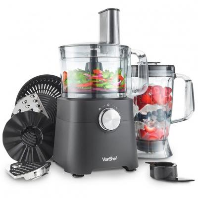 Vonshef 13294 750W Food Processor Multi-Mixer for 220 Volts