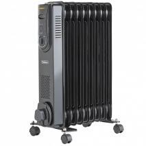Vonhaus 14060 Nine Fin 2000 Watt Radiator Heater for 220 volts