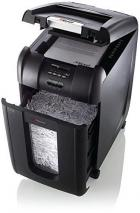 Rexel Auto+ 300X Cross Cut Paper/CD/Credit Card Shredder with 300 Sheet Capacity - Black 220 VOLTS NOT FOR USA