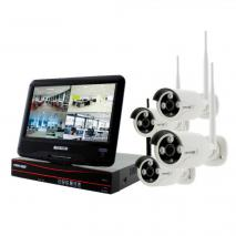 CRYSTAL VISION - CVT9604E-3010W 4 CHANNEL ALL-IN-ONE TRUE HD WIRELESS SURVEILLANCE SYSTEM