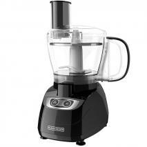 BLACK+DECKER FP1700B 8-Cup Food Processor, Black, 220 VOLTS (NOT FOR USA)