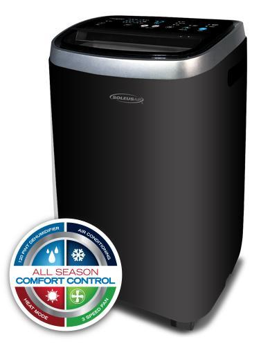 Merveilleux SOLEUS AIR® PMC 12HP 201 12,000 BTU 115 VOLT PORTABLE AIR CONDITIONER WITH  HEAT