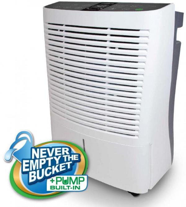 Soleus Air Dme 95ip 01 95 Pint Dehumidifier With Internal Pump