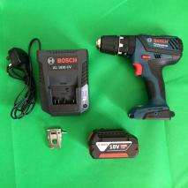 Bosch Professional GSB 18VE-2LI Cordless Combi Drill + GDX 18V-EC Cordless Impact Driver 220 VOLTS NOT FOR USA
