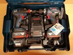 Bosch Professional 18 V Power Tool Kit and Bag 220 VOLTS NOT FOR USA