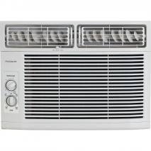 FRIGIDAIRE FFRA1011R1 10,000 BTU 115V Window-Mounted Mini-Compact Air Conditioner with Mechanical Controls-White 110 Volts