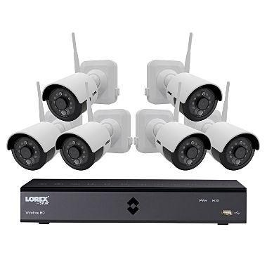 Lorex 6-Channel Wire-Free Security System 110-220 VOLTS