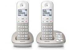 Philips XL4952S/05 Twin Cordless Phones with Answer Machine 220 VOLTS NOT FOR USA