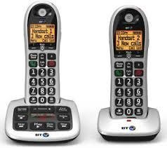 BT 4600 Big Button Advanced Call Blocker Cordless Home Phone 220 VOLTS NOT FOR USA