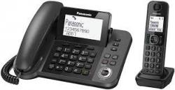 Panasonic KX-TGF320E Corded and Cordless Nuisance Call Block Combo Telephone Kit 220 VOLTS NOT FOR USA