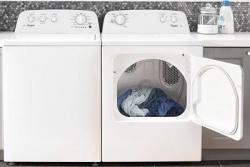 Whirlpool 3LWTW4705FW Atlantis High Efficiency 15kg Heavy Duty Washer and  3LWED4705FW Dryer For 220 Volts NOT FOR USA