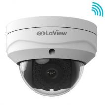 LaView LV-PWD50202-W 2MP Weatherproof Wi-Fi IP Surveillance Dome Camera 110-220 VOLTS