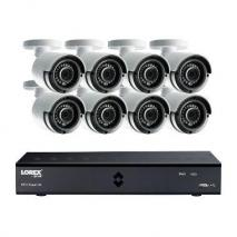 Lorex LHA41082TC8B 8-Channel 4 Mega Pixel DVR Surveillance System 110-220 VOLTS