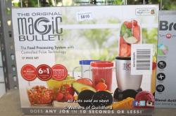 NUTRiBULLET Magic Bullet Blender, Mixer & Food Processor, 17 piece set