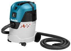 Makita VC2512L vacuum cleaner - vacuum cleaners (Drum, Home, Carpet, Hard floor, Black, Blue, Metallic, Dry&Wet) (220-240 VOLTS NOT FOR USA)