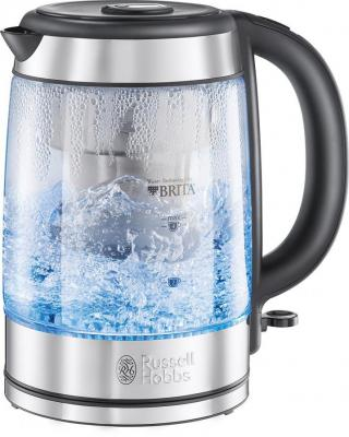 Russell Hobbs 20760-10 Purity Glass Brita Kettle, 1.5 L, 3000 Watt 220 VOLTS NOT FOR USA