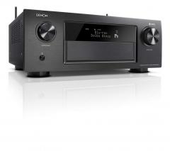 Denon AVRX4400H 9.2 Premium AV Receiver and Driver heOS Dolby Vision Komtabilität, Dolby Atmos, Dtsx, WiFi, Bluetooth, Spotify Connect 4 K/60Hz 8 HDMI Inputs, 9x 200 W) Black 220 Volts NOT FOR USA