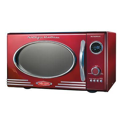 Nostalgia RMO-400RED Electrics Retro Series Microwave Oven 110 VOLTS  (ONLY FOR USA)
