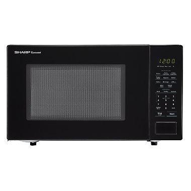 Sharp SMC1131CB 1.1 cu. ft. Carousel Countertop Microwave Oven, 1000W 110 VOLTS  (ONLY FOR USA)