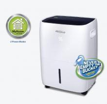 SOLEUSAIR DSX-70EM-01 70 PINT PORTABLE DEHUMIDIFIER 110-120 VOLTS ONLY FOR USA