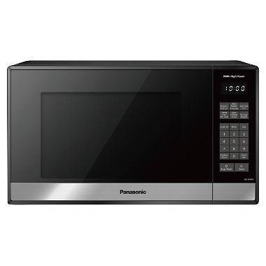 Panasonic NN-SB448S 0.9-cu. ft. Stainless-Steel Microwave Oven with Genius Sensor 110 VOLTS  (ONLY FOR USA)