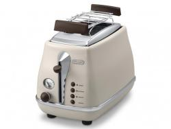 DELONGHI ICONA VINTAGE CTOV 2103.BG TOASTER 220 VOLTS NOT FOR USA