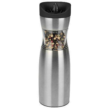 Kalorik PPG 37241 Gravity Salt and Pepper Grinder Set  110 VOLTS (ONLY FOR USA)