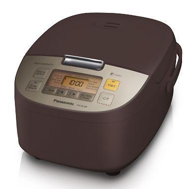 Panasonic SR-ZS105 Electric 10-Cup Rice Cooker and Multi-Cooker, Espresso 110 VOLTS (ONLY FOR USA)