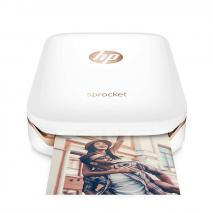 HP X7N07A Sprocket Photo Printer, White 220-240 Volts NOT FOR USA