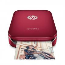 HP Z3Z93A630 Sprocket Photo Printer – Red 220-240 Volts NOT FOR USA