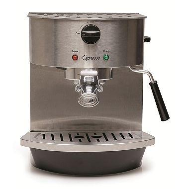 Capresso 980093778 Stainless-Steel Pump Espresso and Cappuccino Machine 110 VOLTS (ONLY FOR USA)