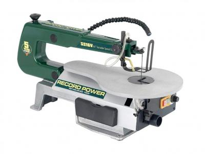 Record Power SS16V Scroll Saw 16-inch 240 Volts NOT FOR USA