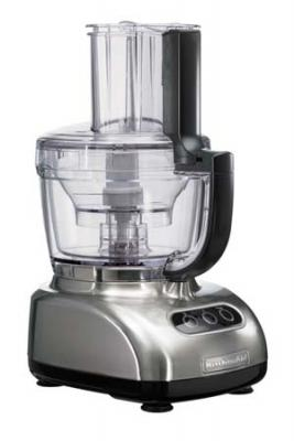 KitchenAid 5KFPM770ENK Artisan Food Processor - Brush Nickel